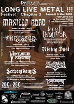 LONG LIVE METAL !!! Festival - Chapitre 3