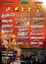 PARIS METAL FRANCE FESTIVAL V - ADX + SQUEALER + SQUARE + HEADLINE + BLASPHÈME + OCÉAN + HÜRLEMENT + ...